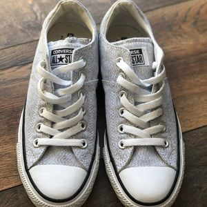 Converse thick tongue sneakers